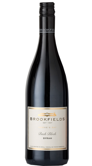 Brookfields Hawkes Bay Back Block Syrah