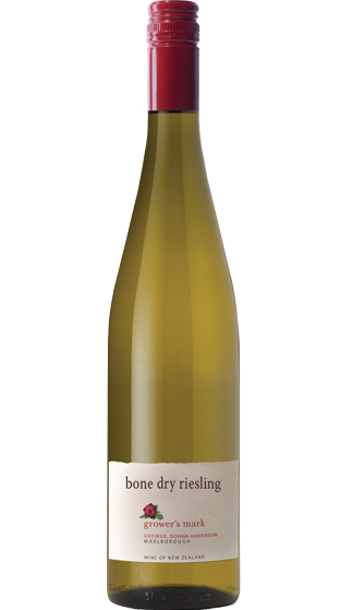 Growers Mark Anderson Marlb Bone Dry Riesling