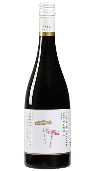 Allan Scott Single Vineyard New Generations Pinot Noir